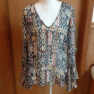 2tee Couture Shear Blouse size small